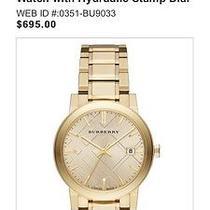 Burberry Women's Watch Retail695 Photo