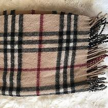 Burberry Wool Scarf 100% Authentic Photo