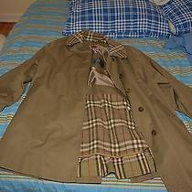 Burberry Wool Trench Coat With Removable Lining Photo