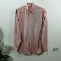 Burberrys (Burberry) Mens Shirt White Red Strip Size 38-15 Photo