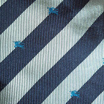 Burberrys Knight on Horse Lance Jousting Game of Thrones Silk Neck Tie Photo