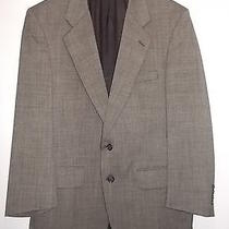 Burberrys Medium Kelleys Mens Shop Long Wool Suit Coat Gray Sport Jacket (M) Photo