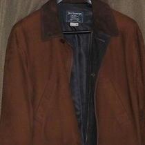 Burberrys Mens Suede Jacket  Photo