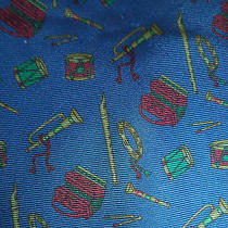 Burberrys Music Instruments Accordion Drum Band Silk Neck Tie -  No Reserve  Photo