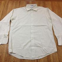 Burberrys of London 15.5-34 Medium Long Sleeve Dress Shirt White B2 Photo