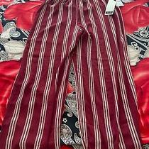 Burgundy / Blush Wide Leg Pant Size Xl Photo