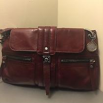 Burgundy Lanvin Shoulder Bag Photo