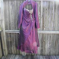 Burgundy Prom Dress Photo