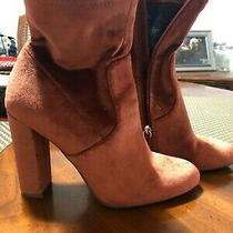 Burnt Orange Steve Madden Boots Size 7 Preowned Great for Fall Photo