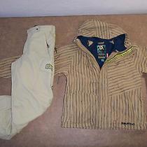 Burton 2 Pc Set Outfit Jacket Pants Ski Snow Suit Vents Boy's L 10 12 Free Ship Photo