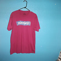 Burton Analog Mens Taped Slim Fit Tshirt Tee Large Nwot Photo