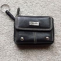 Burton Black Leather Wallet Photo