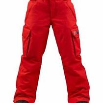 Burton Boys Exile Cargo Snowboard Pants (Xl) Burn Photo