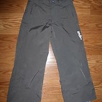 Burton Boys Grey Snow Pants Size Medium  Photo