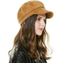 Burton Brown Newsboy Cap Hat Corduroy Photo