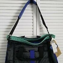 Burton Charter Messenger Laptop Tablet Bag New With Tags Blue Unisex Photo