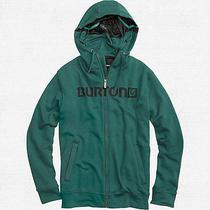 Burton Custom Sleeper Fullzip Hoody (M) Green Photo