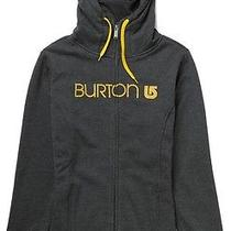 Burton Custom Sleeper Fullzip Hoody (S) Black Photo