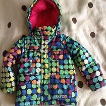 Burton Dry Ride Girls Snow Jacket 4t Photo
