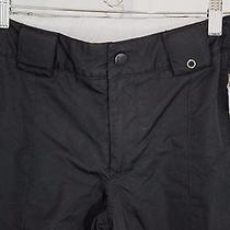 Burton Dry Ride Medium 10 12 Pants Youth Kids Black Adjustable Waist Snowboard Photo