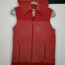 Burton Dryride Hooded Vest Red the Medium Photo