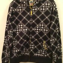 Burton Dryride Jacket Women's Medium Black and White Plaid Checkered  Hood Photo