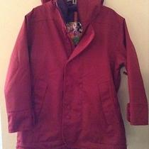 Burton Dryride Lightweight Red Ski Snow Jacket Coat Size Large L Euc Photo