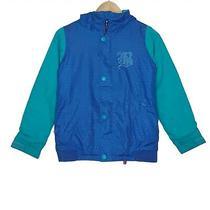Burton Dulce Snowboarding Dryride Jacket Girls Size Medium Blue 2 Layers Hooded Photo