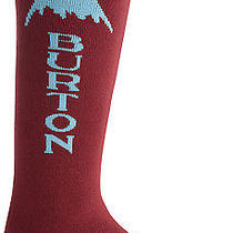 Burton Emblem Snowboard Sock - Crimson Photo