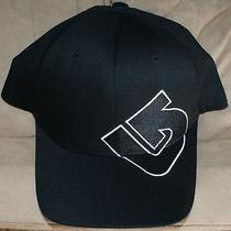 Burton Flex Fit Hat One Size Fits All Black Logo Photo
