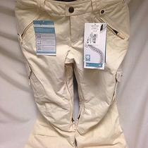 Burton Fly Pant  Womens Snowboard Pants Xs Antique White Photo