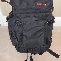 Burton Focus 30l Dslr Camera Backpack - Black With Red Accents Photo