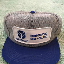 Burton Ford New Holland Vintage Hat Cap Photo