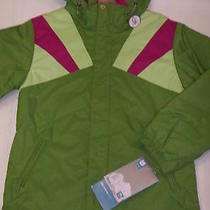Burton Girl's Arctica Snow Jacket Green Xl Nwt  Photo