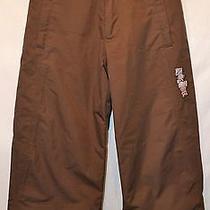Burton Girl's Brown Snow Pants---Small Photo