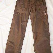 Burton Girl's Brown Snow Pants---Xl Photo