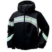 Burton Girl's Rodeo Snow Jacket True Black Med reg200.00  Photo