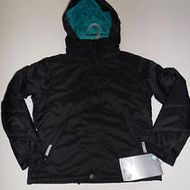 Burton Girls Arctica Snow Jacket True Black Medium Nwt Photo