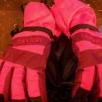 Burton Girls Snow Gloves. Size S Photo