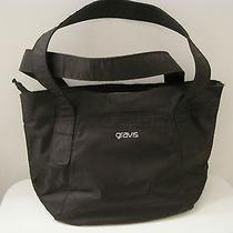 Burton  Gravis Shoulder Bag Black Computer Tablet Work School Tote Travel Photo