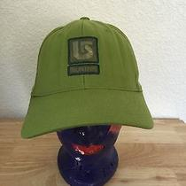 Burton Green Flex Fit Fitted Hat Large Photo