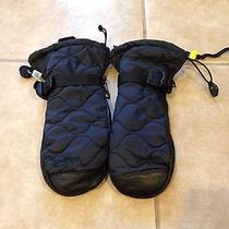 Burton Insulator Mitten Women's Xs   Black Leather  Photo