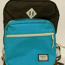 Burton Kettle 20l Backpack Striped Brown Blue School College Work Travel Laptop  Photo