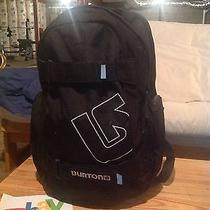 Burton Laptop School Travel Backpack Pack Book Bag True Black Photo
