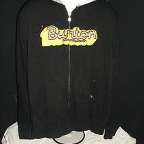 Burton Large L Hooded Sweatshirt Snowboard Snow Photo