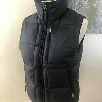 Burton Lava Navy Blue Puffer Vest Womens Size Small Photo