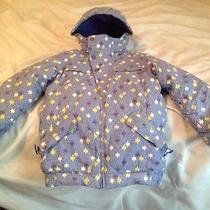 Burton Lavish Bomber Jacket Girl's Sz Xl Photo