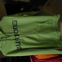 Burton Lime Green Hoodie Photo