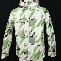 Burton Man's Launch Warmed Quilted Skiing Hiking Camouflage Jacket Sz Xs Photo