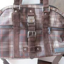 Burton Mark Xiii Messenger Satchel Plaid Bag Wallet Butterfly Lining Shoulder Photo